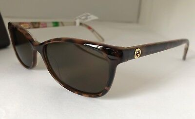 GUCCI Floral Sunglasses GG 3699/N Z9X Crystal Clear Women 140 (Gucci Floral Sunglasses)