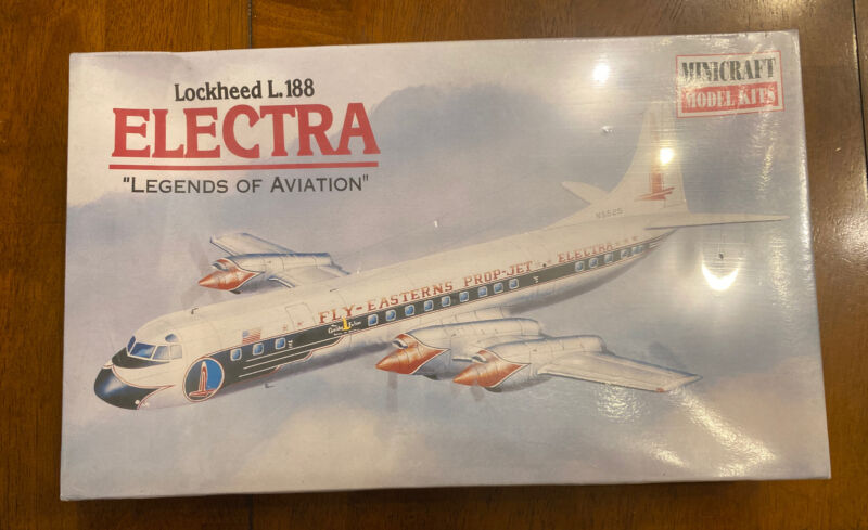 MINICRAFT 1/144 LOCKHEED L.188 ELECTRA EASTERN AIRLINES   #14444