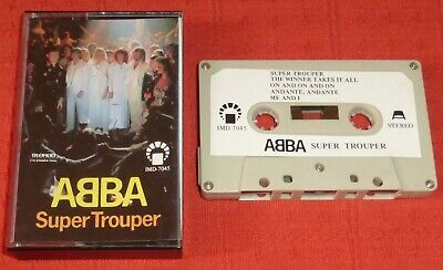 ABBA - SAUDI ARABIA CASSETTE TAPE - SUPER TROUPER