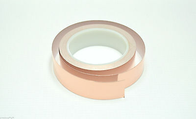 1 X 22 Yards Copper Foil Tape Conductive Emi Shielding 25mm Us Stock Fast Ship