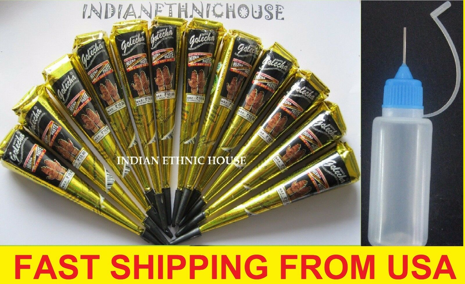 12 black henna cones applicator temporary tattoo body for Henna tattoo kits target