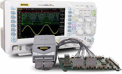 Rigol Mso1104z Kit - 100 Mhz Mixed Signal Oscilloscope With Logic Probe 4 Analo