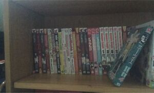 81 volumes of assorted manga