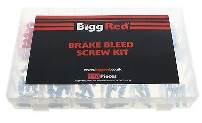Assorted Box  Bleed screws Metric & Imperial Brake Nipple Caliper Nipples & Caps