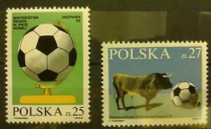 POLAND-STAMPS MNH Fi2664-65 SC2521-22 Mi2812-13 - World Cup Football,1982,clean - <span itemprop=availableAtOrFrom>Reda, Polska</span> - POLAND-STAMPS MNH Fi2664-65 SC2521-22 Mi2812-13 - World Cup Football,1982,clean - Reda, Polska