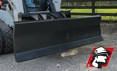 Dozer Blade Attachment 84 Wide Skid Steertrack Loader For Bobcat