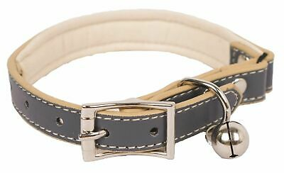 Banbury & Co Luxury Cat Collar with Bell - Large LEATHER SAFETY COLLAR WITH BELL
