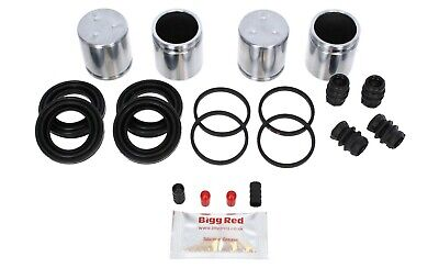 for SUBARU IMPREZA /& LEGACY FRONT 4 pot Brake Caliper Piston Repair Kit BRKP1S