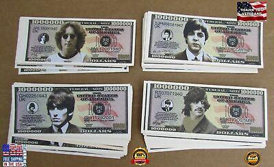 The Beatles Fake Money, John, Paul, George, Ringo One Million Dollar