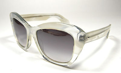 Oliver Peoples Sunglasses Emmy Col. Ghost/ Silver Flash Mirror Sunglasses (Cheap Oliver Peoples Sunglasses)