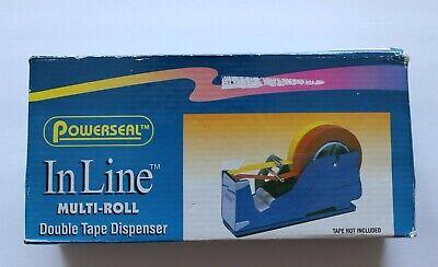 Powerseal Sl7326 Inline Multi-roll Double Tape Dispenser