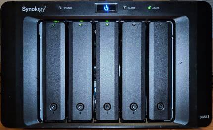 Synology DX513 & 6TB of Samsung 850 EVO SSD's (3 x 2TB)