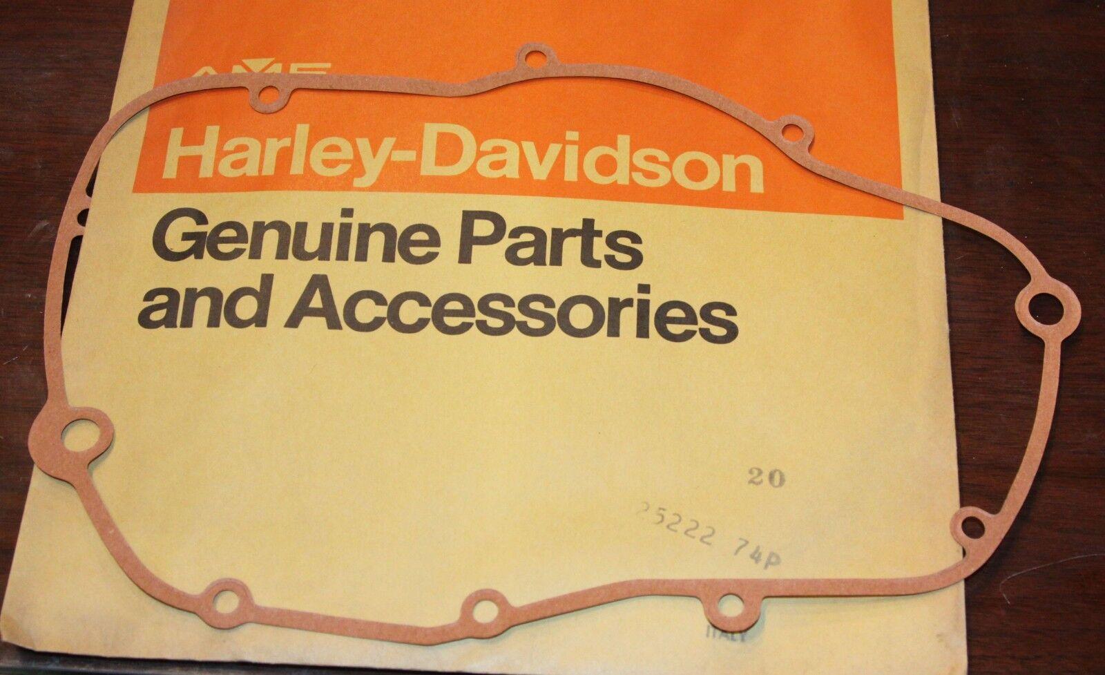 HARLEY AERMACCHI 25222-74P CRANKCASE GASKET  175 250 NOS OEM