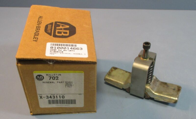 Allen Bradley X-343110 Movable Contact Assembly 3 Pole Renewal Part NIB