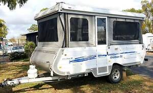 2011 GOLDSTREAM CROWN SEMI OFFROAD WINDUP CARAVAN, 12v BATTERY, BBQ Deception Bay Caboolture Area Preview