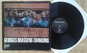 U772 GEORGES BRASSENS CHANSONS PHILIPS RECORDS RARE OLD LP - <span itemprop=availableAtOrFrom>Graz-Puntigam, Österreich</span> - U772 GEORGES BRASSENS CHANSONS PHILIPS RECORDS RARE OLD LP - Graz-Puntigam, Österreich