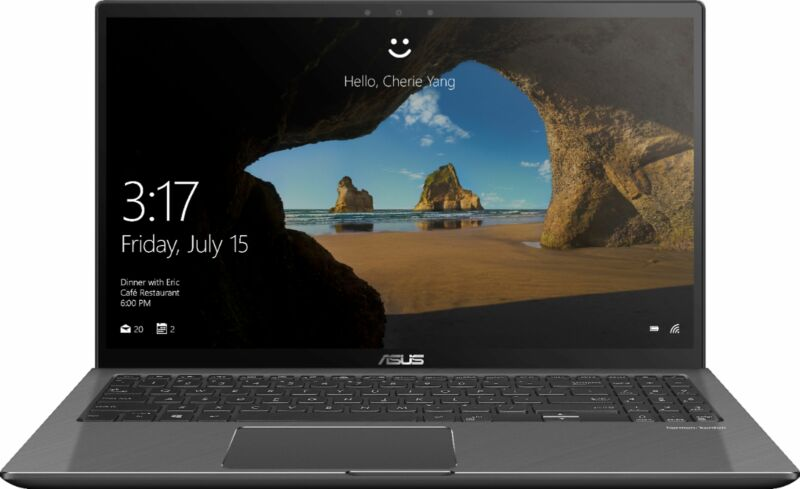 "ASUS 2-in-1 15.6"" 4K Ultra HD Touch-Screen Laptop Intel Core i7 16GB Memory NVIDIA GeForce GTX 1050 2TB HDD + 256GB SSD Gun Metal Gray Q536FD-BI7T15"