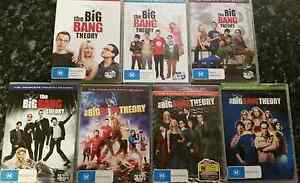 Box Sets of Big Bang Theory DVD's Raymond Terrace Port Stephens Area Preview