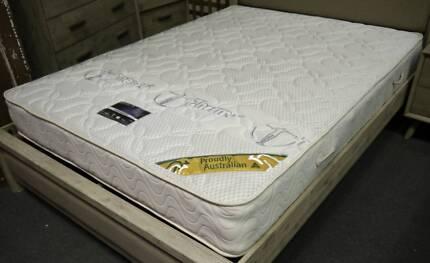 New Medicoil Aquarius Australian Made Firm Mattress Queen Bed