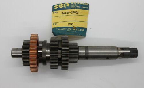 NOS Suzuki Counter Shaft 1971-73 TS185 73 GT185 24120-29003 New BIN O