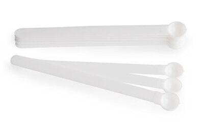.15cc Mini Plastic Scoop Mixing Measuring Spoons Tiny Small 1/32 teaspoon .15ml