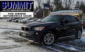 2012 BMW X1 | CAR-FAX CLEAN | PANO ROOF | H. SEATS | BLUETOOTH