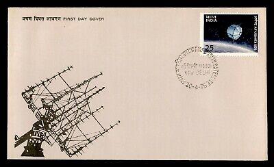 DR WHO 1975 INDIA FDC SPACE ARYABHATA SATELLITE LAUNCH  C243755