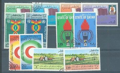 Qatar 1981 five sets used