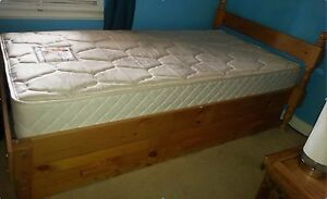 Single Bunkers bed with drawers and ChiroOsteo mattress Blackwood Mitcham Area Preview