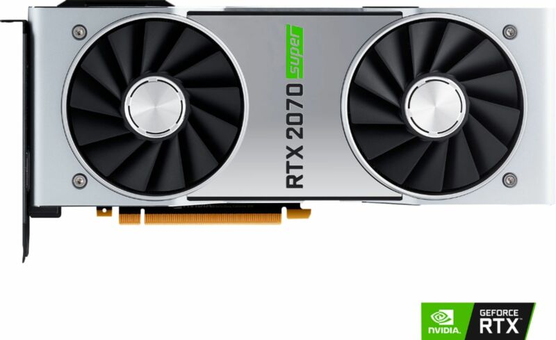 NVIDIA GeForce RTX 2070 Super 8GB GDDR6 PCI Express 3.0 Graphics Card - Black...