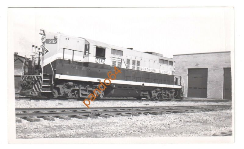 Original B&W Photograph NORTHERN ALBERTA #202 GMDD GP-9 Diesel  TP07