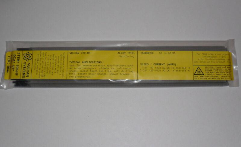 """2 LB (28 rods) 1/8"""" Vulcan 700-HF Hardfacing/Hardsurfacing Electrodes"""
