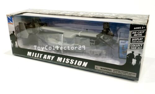 Bell Boeing V-22 Osprey Helicopter 1/72 scale Diecast Military Mission INSTOCK