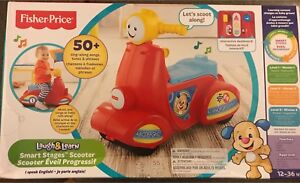 New unopened box Fisher Price smart stage scooter