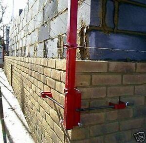 Mustang 6' External Bricklaying Building Corner Profiles Pair Brick Clamp DQ15