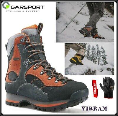 Anfibi scarpe scarponcini scarponi da montagna caccia trekking VIBRAM uomo donna