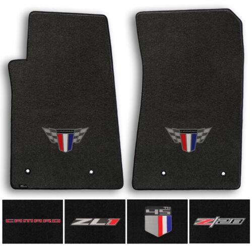 Lloyd Carpet 2pc Floor Mats for 2010-2015 Chevrolet Camaro - Choose Color & Logo