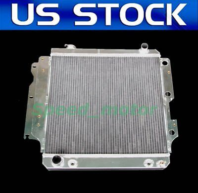 2101 Radiator Fit For 1987 2006 Jeep Wrangler L4 4CYL V6 6CYL 3 ROW ALL ALUMINUM