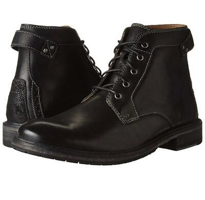 Clarks Clarkdale Bud Men's Black Leather Casual Dress Boot B