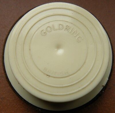 GRAMMOPHON SCHELLACK-Plattenwischer Gramophone-Record duster Firma GOLDRING-RUND