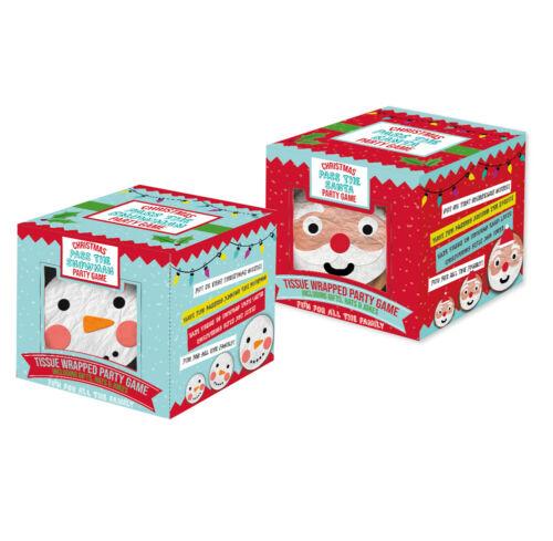 Pass The Parcel Santa & Snowman Christmas Party Games - Family Fun Secret Santa