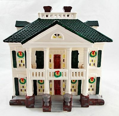 Dept 56 Snow Village ~ Southern Colonial ~ EUC With Box 54038 ()