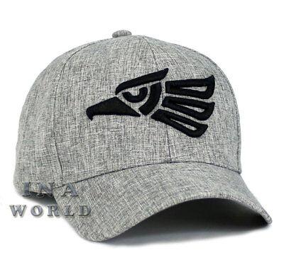 Mexican hat Hecho En Mexico Aguila Eagle Snapback Curved Baseball cap-Light Gray
