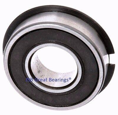 Qty.1 6204-2rs-nr Seals Bearing W Snap Ring Ball Bearings 6204-2rs Nr