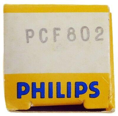 GEPRÜFT: PCF802 Radioröhre, Hersteller Philips. ID16854