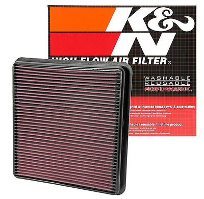 K&N 33-2387 Replacement Air Filter 2007-2013 Toyota Tundra 2008-2013 Sequoia  for sale  Lenexa