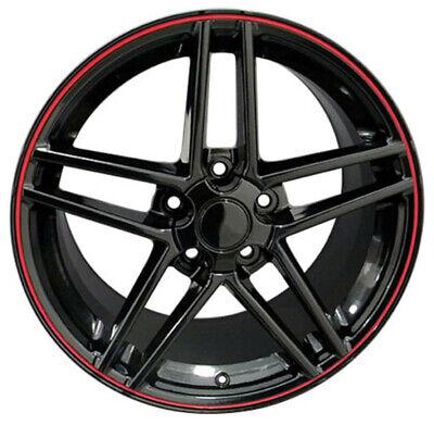 Wheel 2005-2013 Chevrolet Corvette (rear) 20 Inch Aluminum Rim 5 Lug 120.65mm