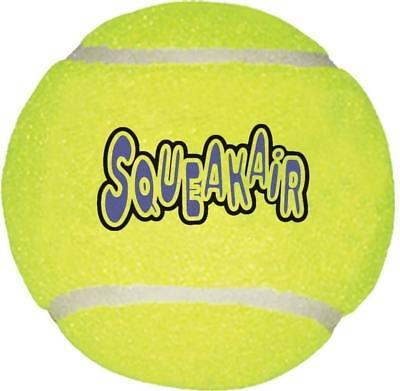 KONG Air Squeaker Ball Dog Toy, X-Large 4-Inch