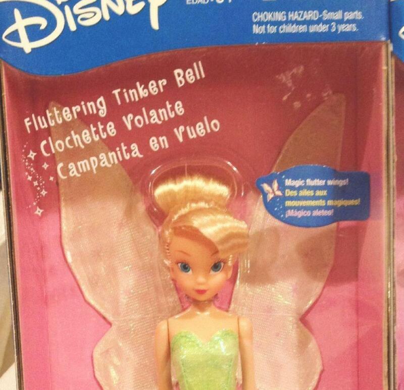 2001 NEW Return To Neverland Peter Pan TINKER BELL Doll Hasbro #3824