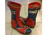Classic Frank Thomas Motorcycle Boots Size 9